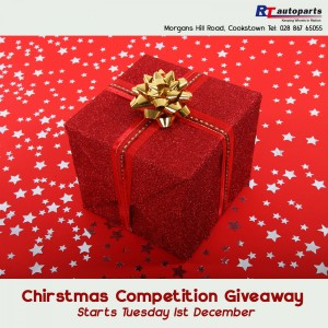 Facebook Christmas Giveaway poster