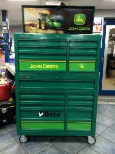 John Deere Toolbox 01 & RT Autoparts Cookstown Tyrone Northern Ireland Special Edition John ...