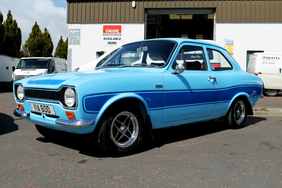 rt autoparts cookstown tyrone northern ireland 2016 rs focus vs 1974 mk1 escort rs2000. Black Bedroom Furniture Sets. Home Design Ideas