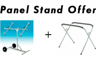 panel stand banner